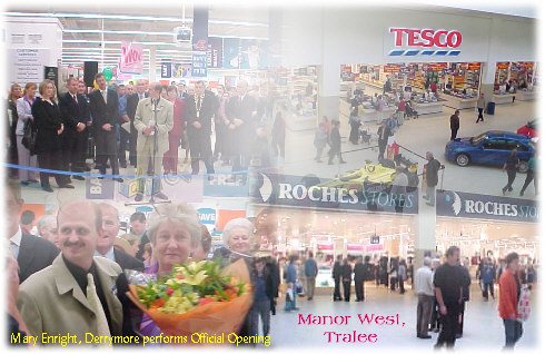 46cb3b0814d3c Mary Enright from Derrymore officially opened the new Tesco store at the  spectacular Manor West Shopping